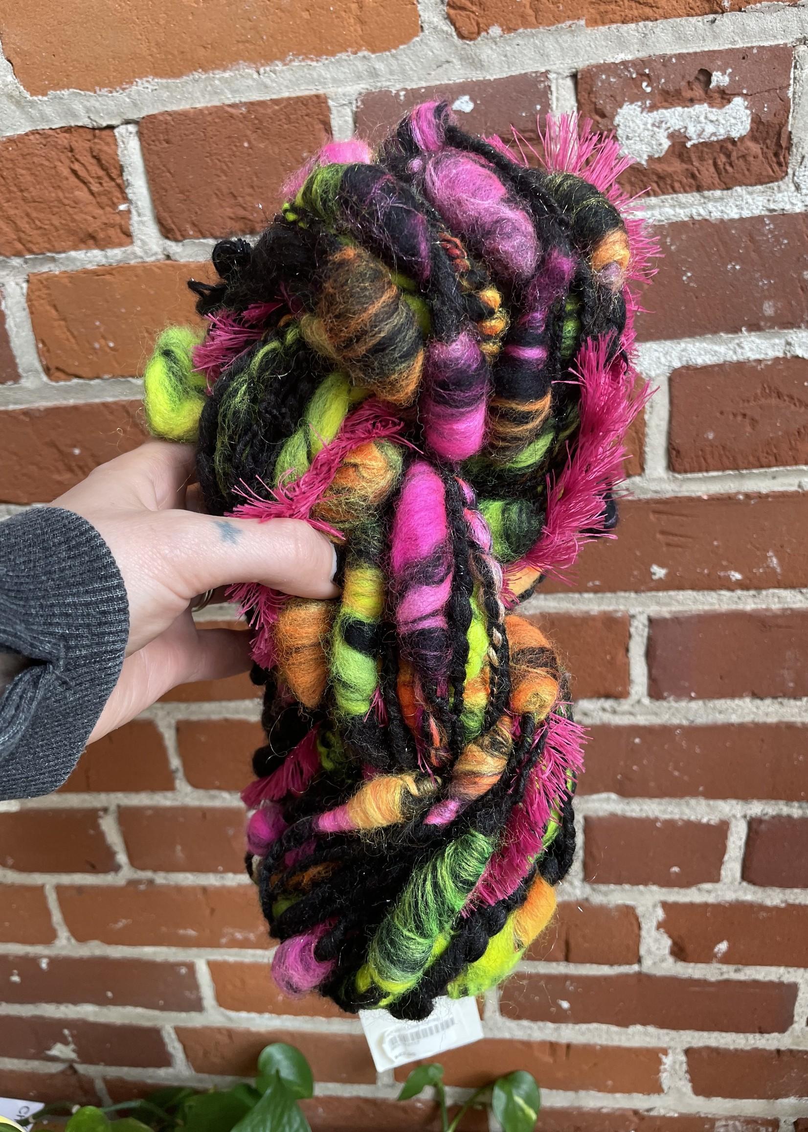 Ruby Slippers Studio Neon Slub Art Yarn