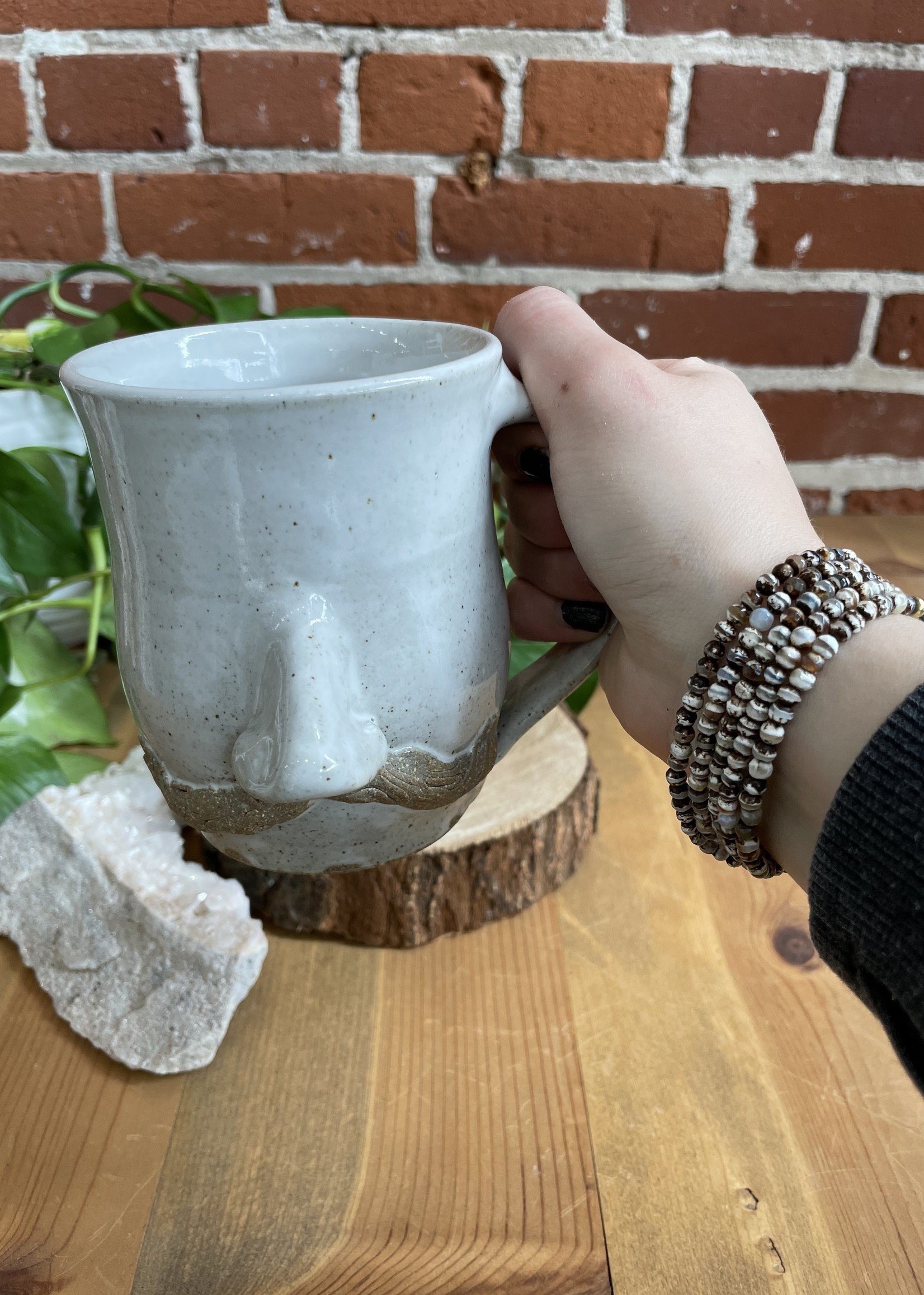 Face Mug - Darrel Bowman Pottery