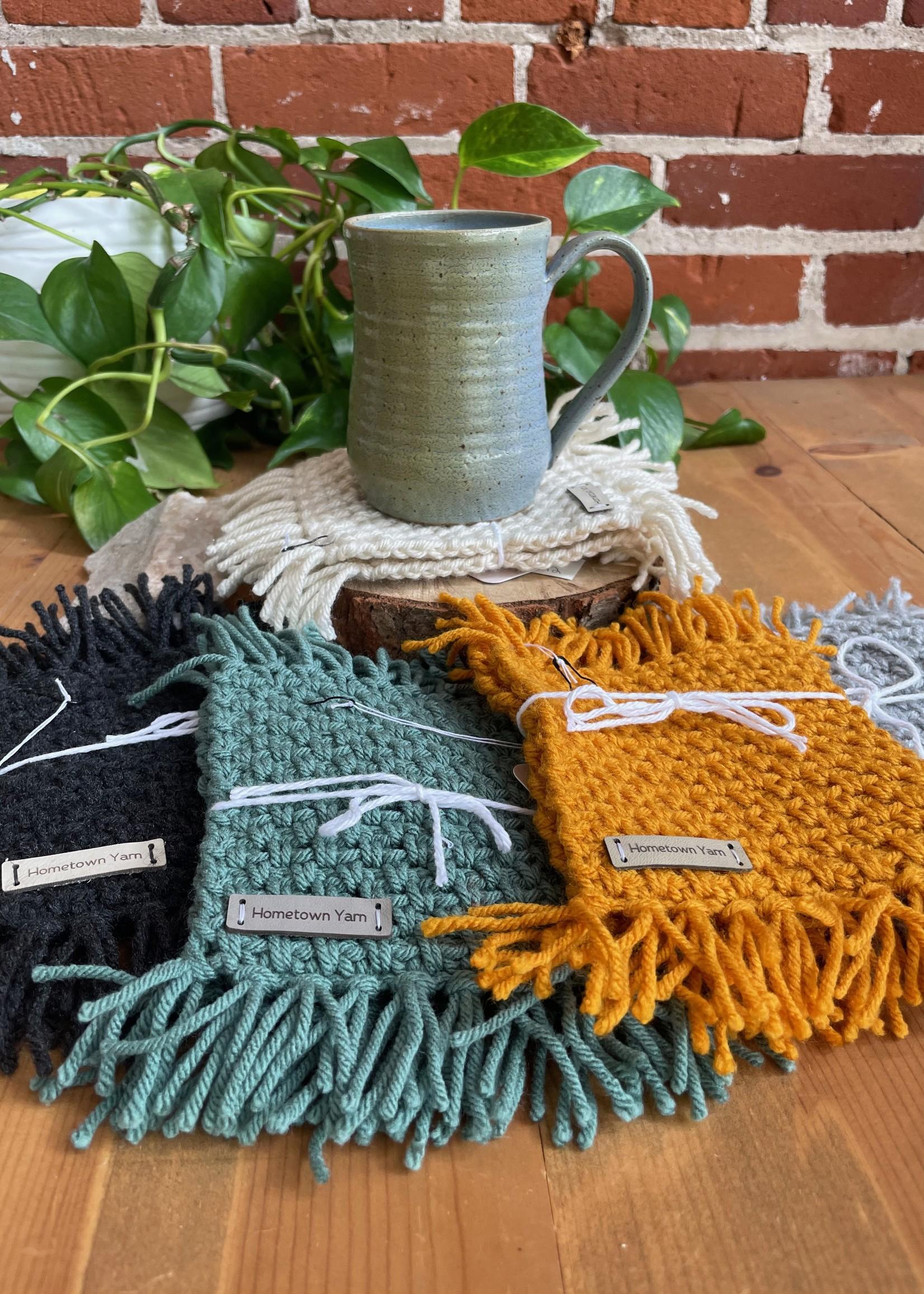 Hometown Yarn Mug Rug