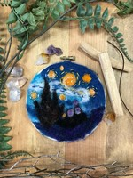 Starry Night Needle Felt Kit