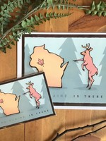 Eau Claire is There - Deer Art Print