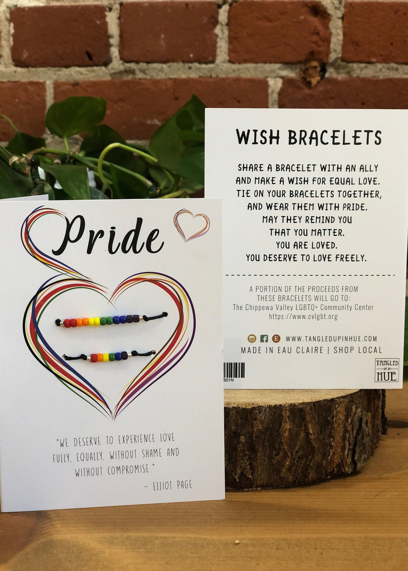 Wish Bracelet Pride