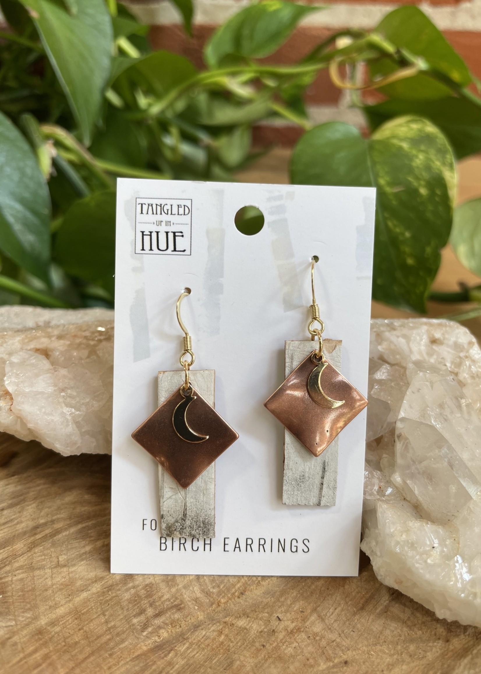 Handmade Birch Earrings