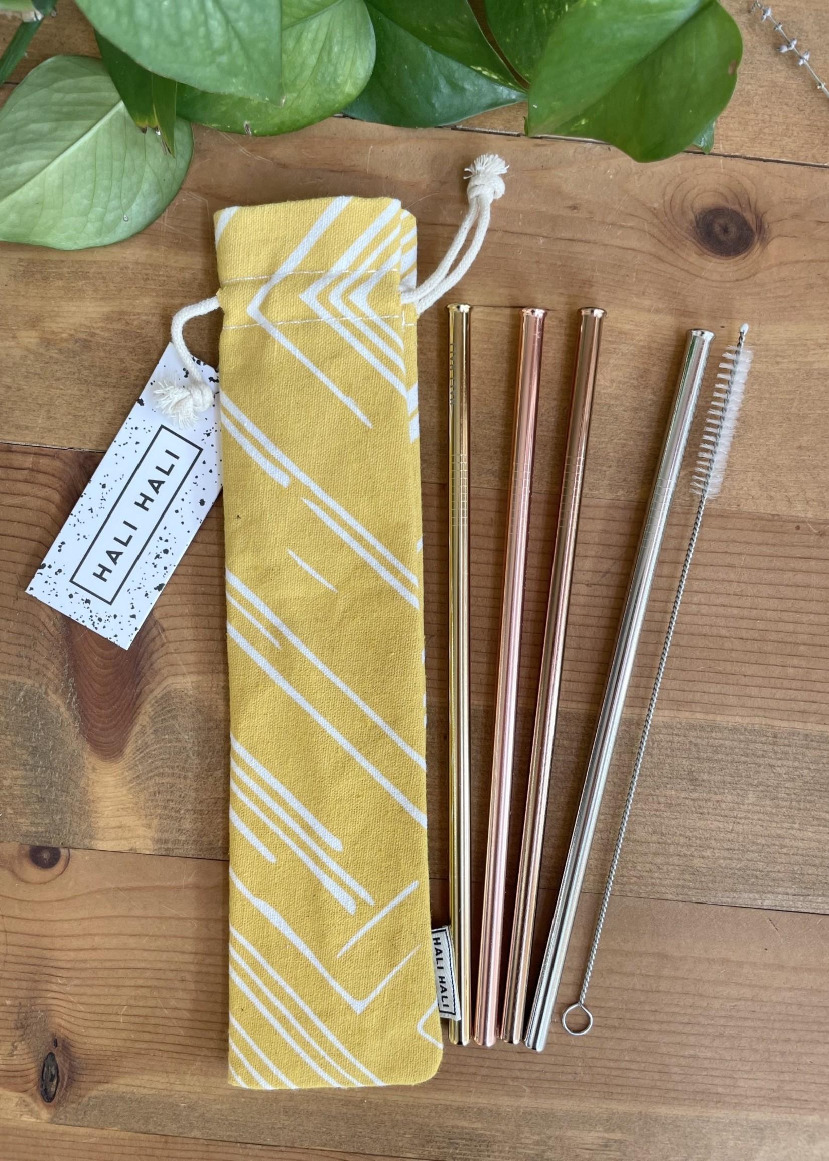 Hali Hali Eco-Friendly Straw Set