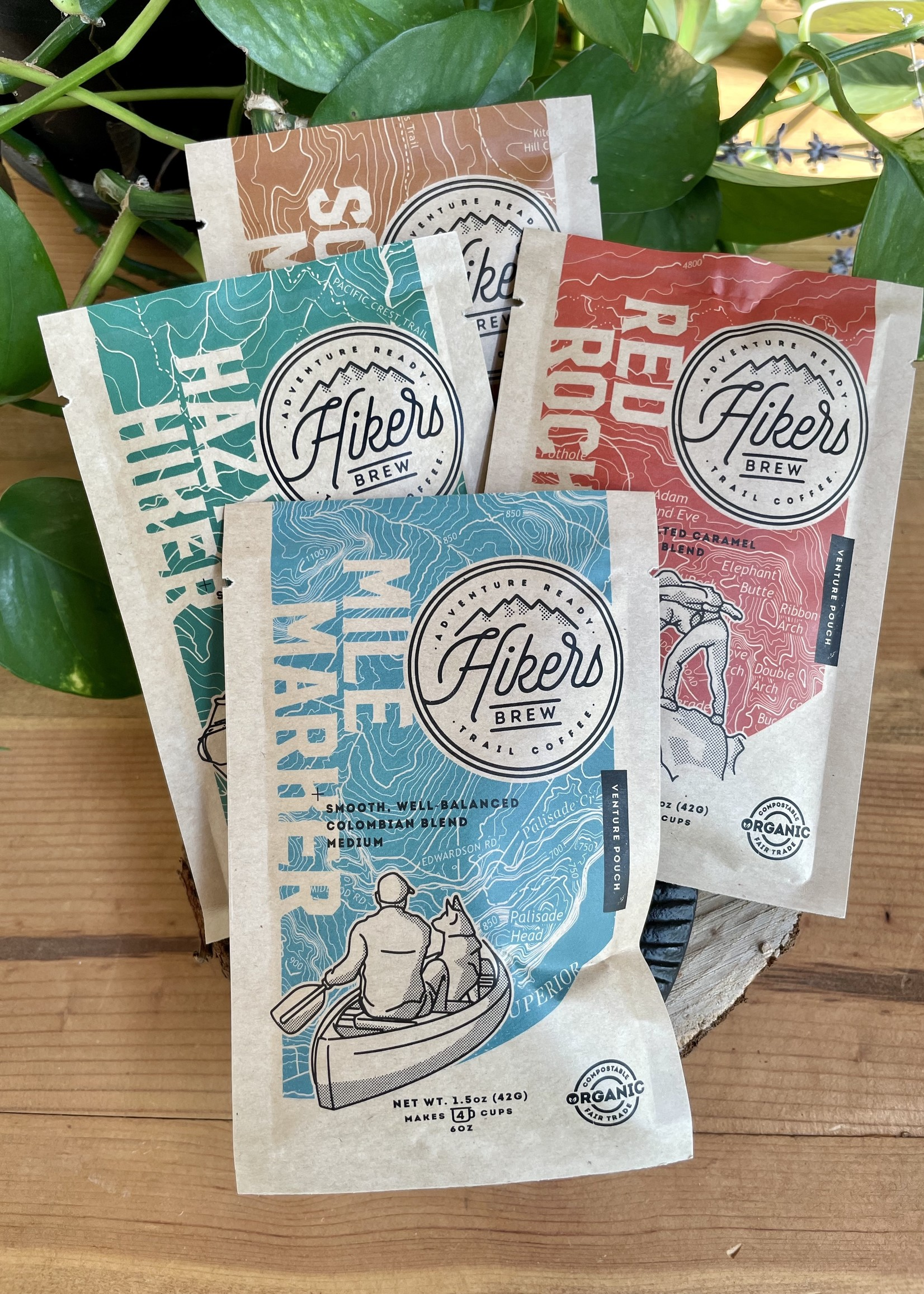 Hikers Brew Hikers Brew Coffee Pouches