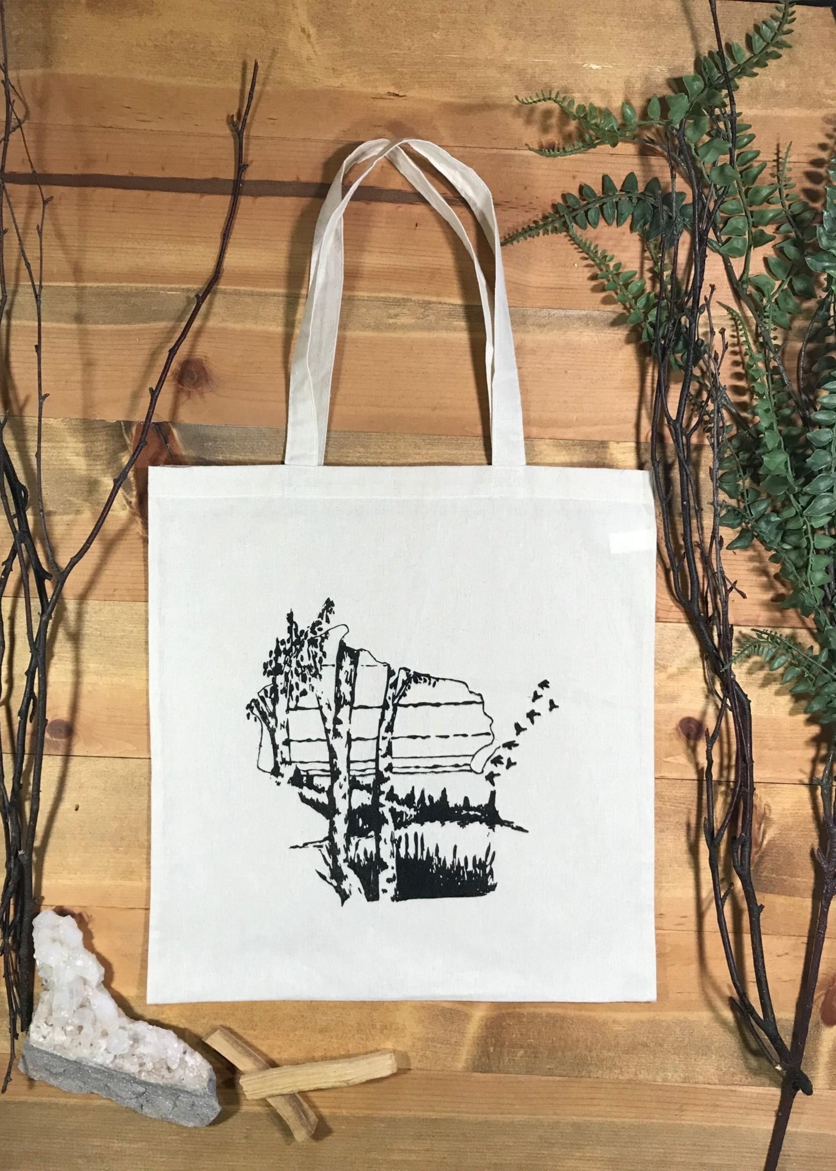 Tote Bag - Wisconsin Birch
