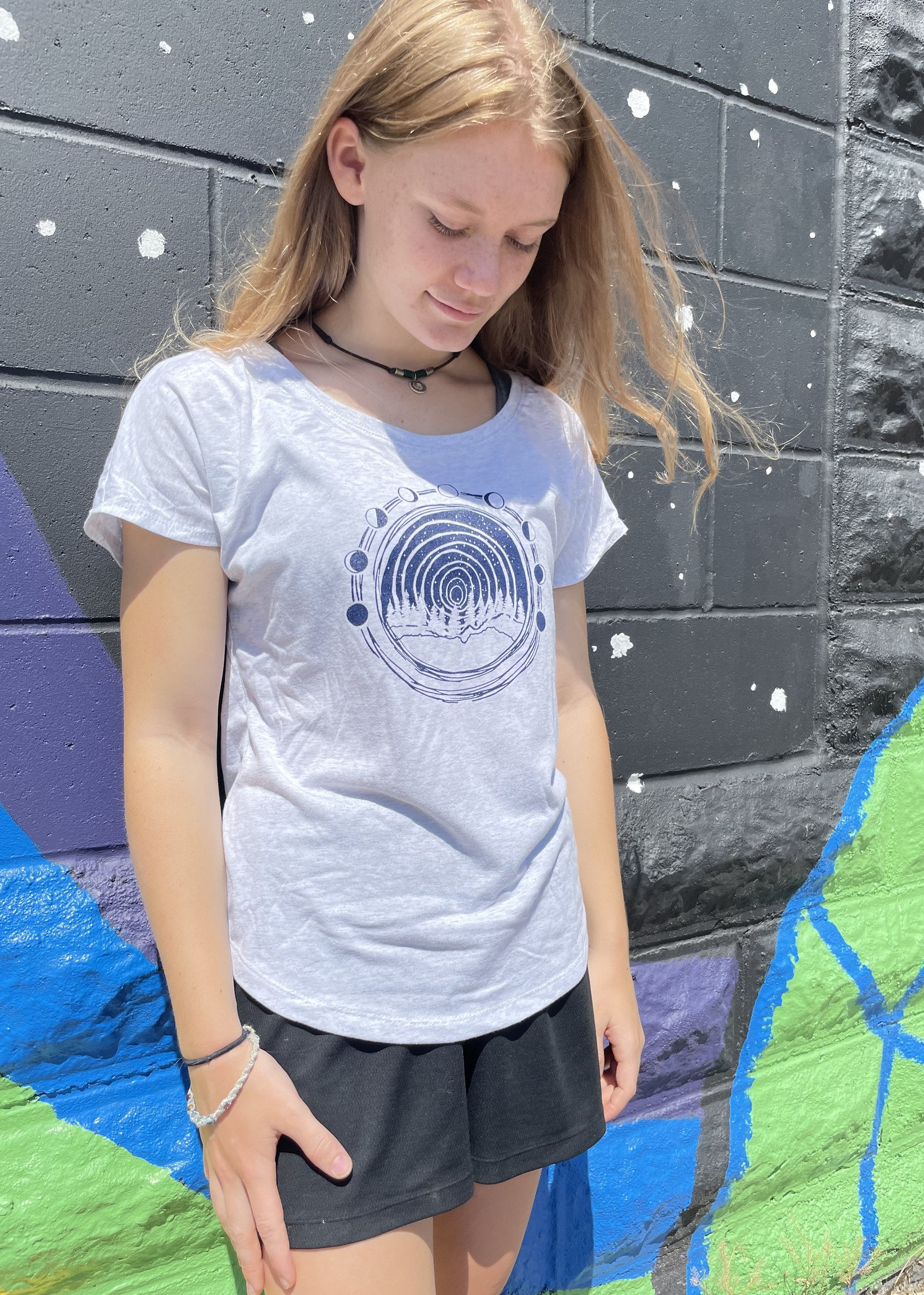 Moon Over Midwest Women's Dolman Adult T-Shirt