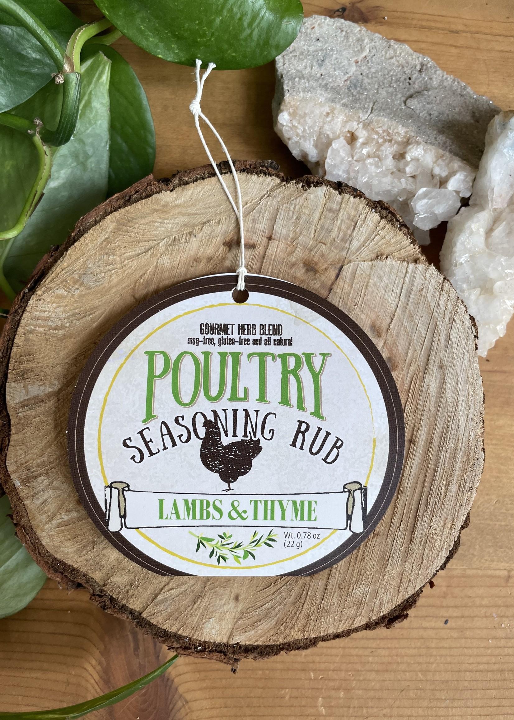 Lambs & Thyme Seasoning Rub
