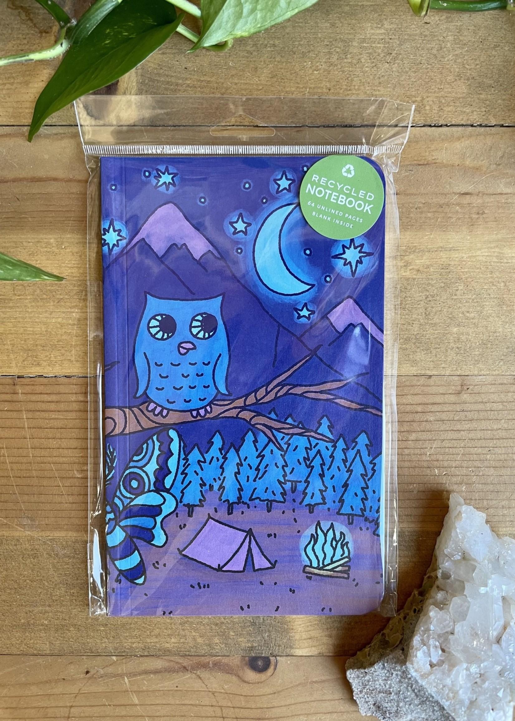 Soul Flower Mini Notebook - Funky Scenes
