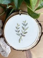 Islay's Terrace Botanical Embroidery