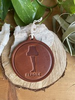 Sugarhouse Leather Leather Ornament