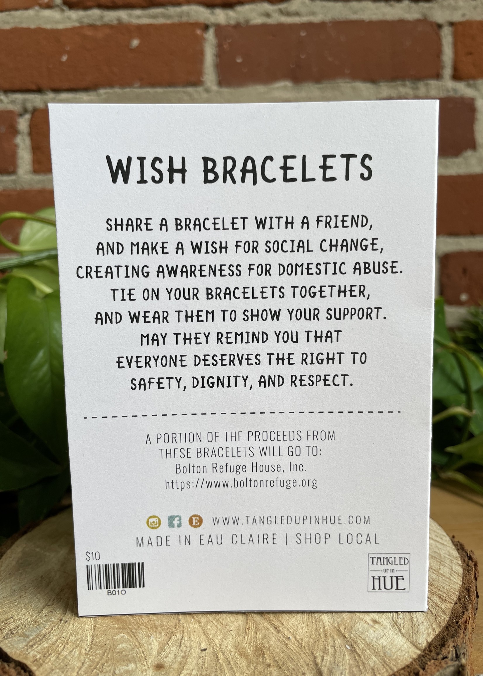 Wish Bracelet Resilience