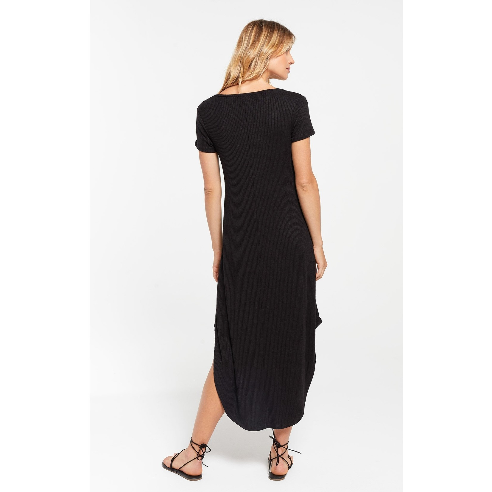 Z Supply Reverie Rib Dress - Black