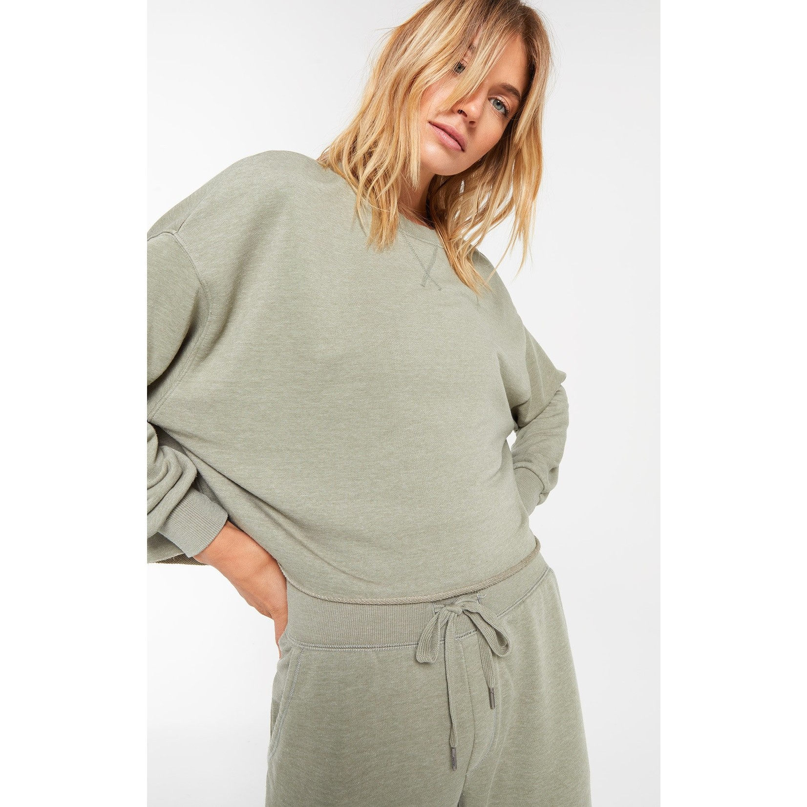 Z Supply Izzy Loop Terry Pullover