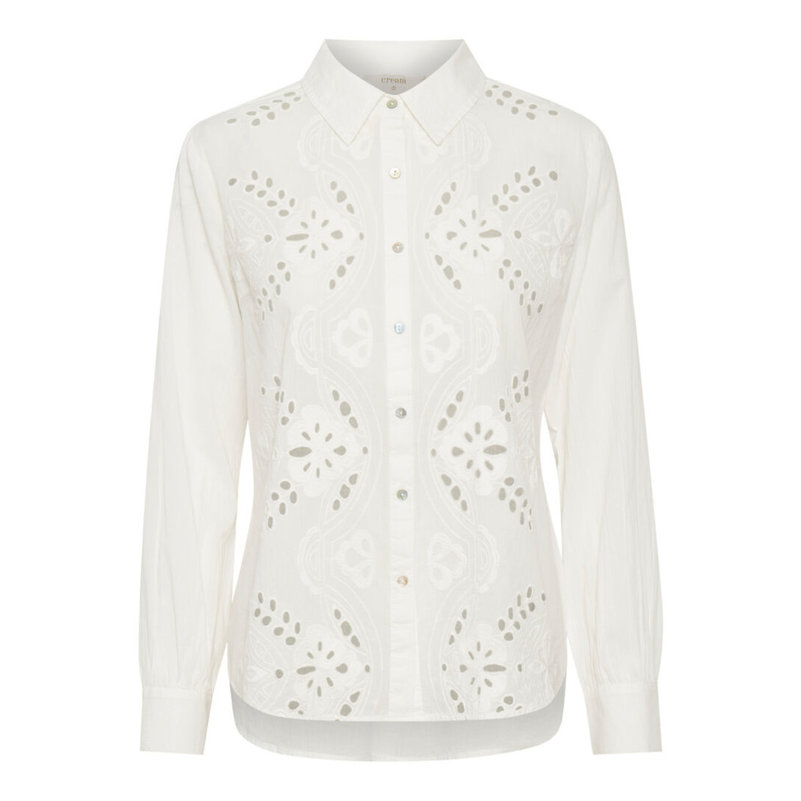 Cream Kallie Shirt