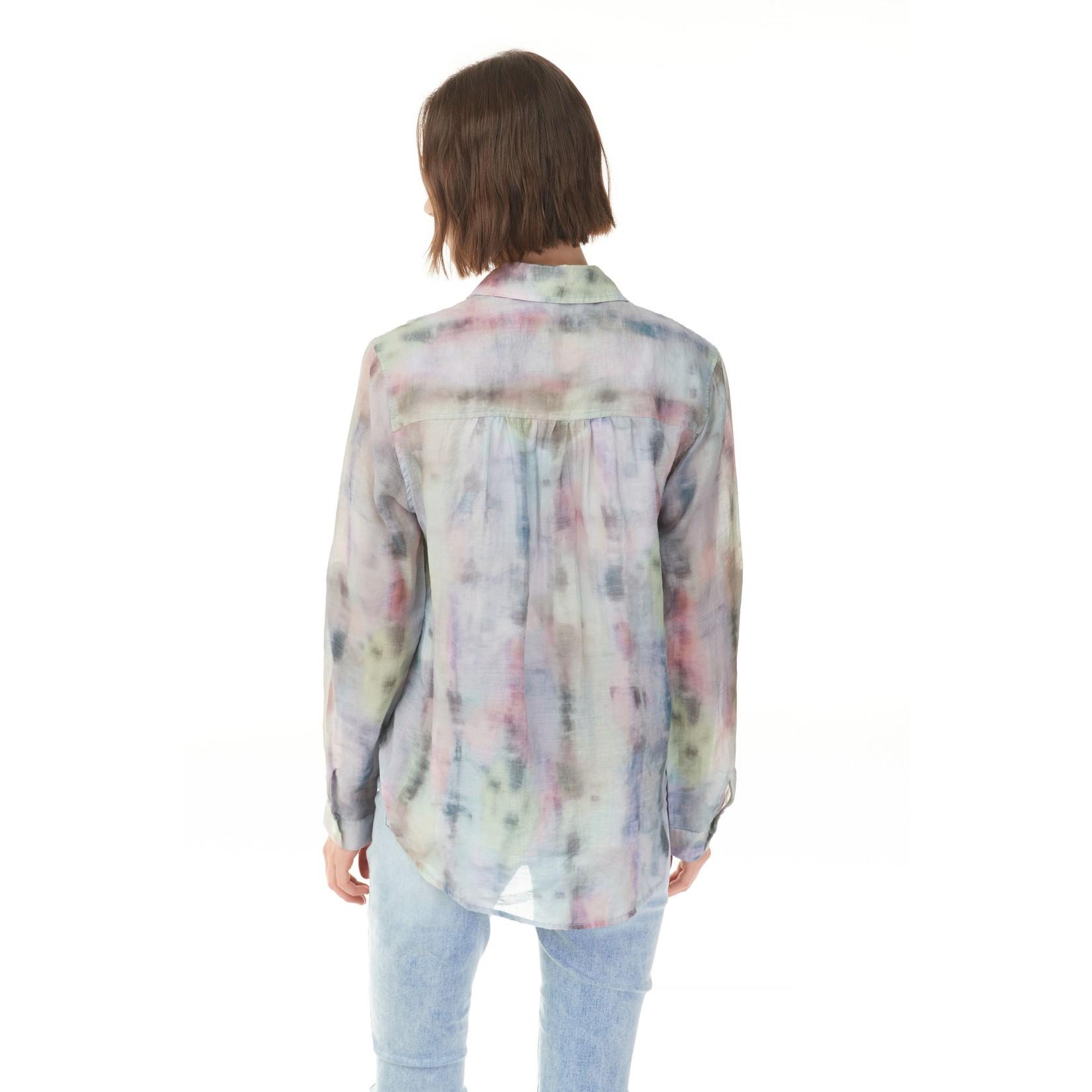 Charlie B Printed Rayon Shirt