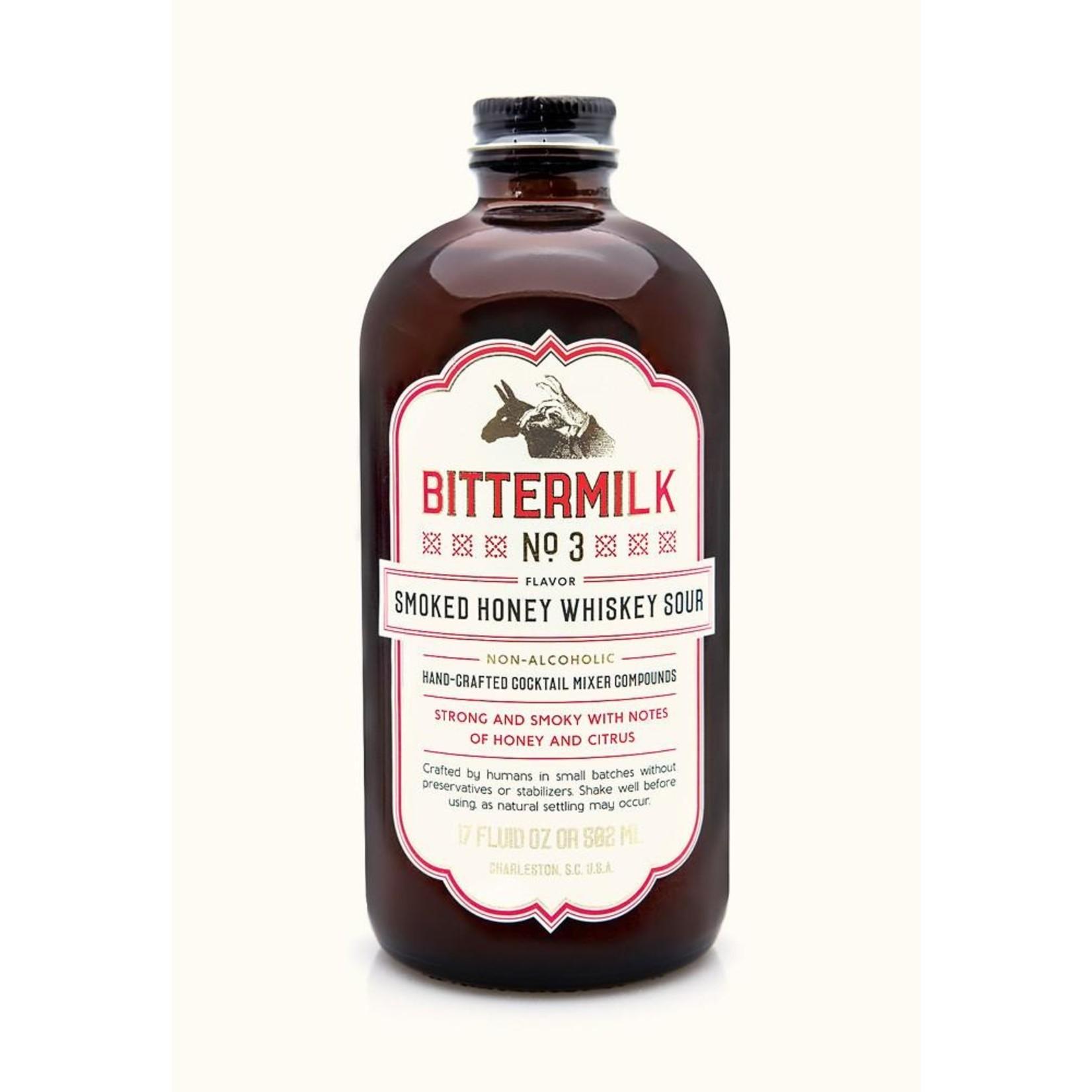 Bittermilk No.3 - Smoked Honey Whiskey Sour