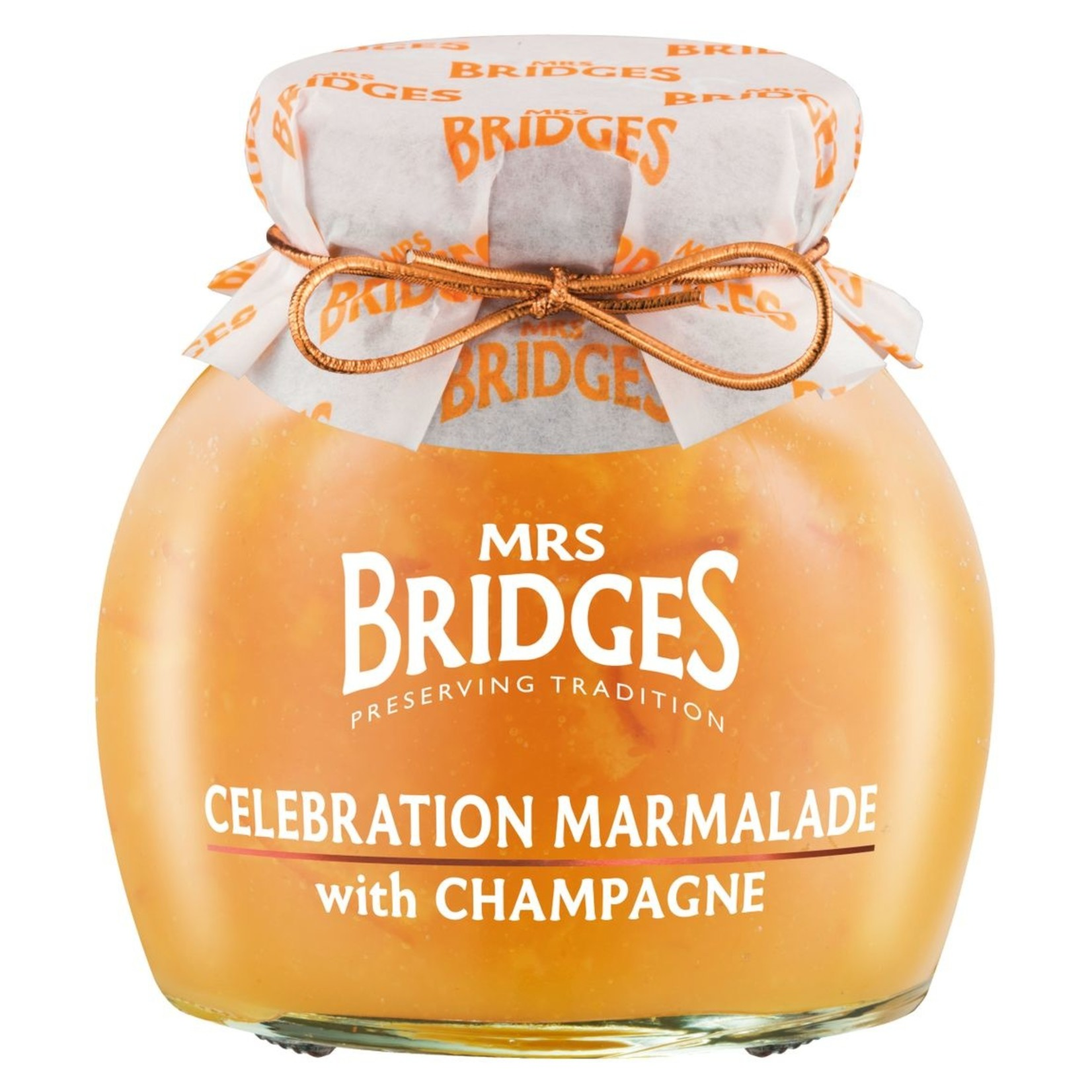 Mrs. Bridges Celebration Marmalade with Champagne