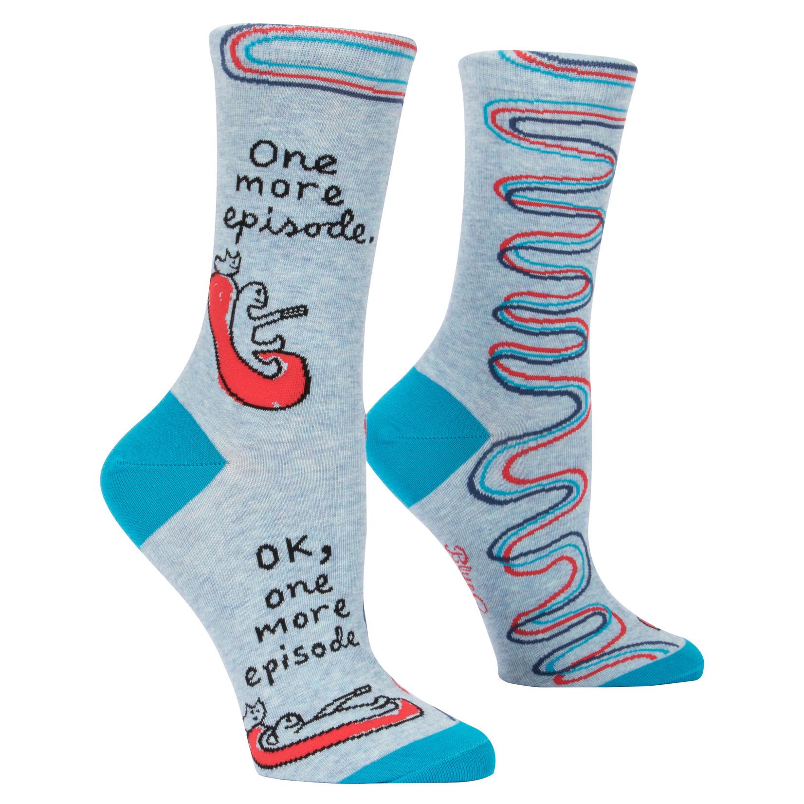 Blue Q One More Episode  W - Crew Socks
