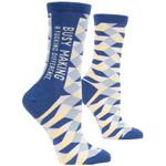Blue Q Making A Difference W - Crew Socks