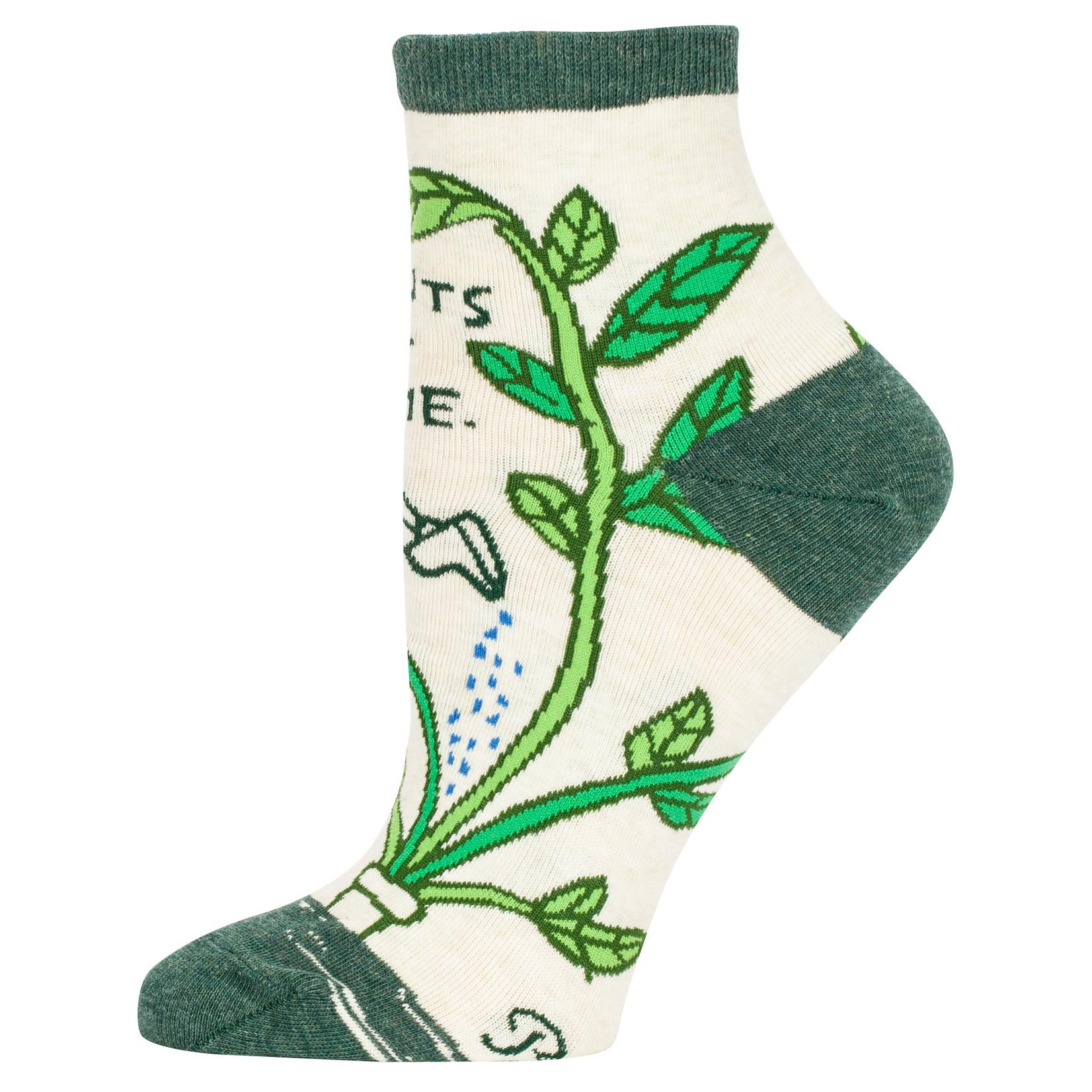 Blue Q Plants Get Me W - Ankle Socks