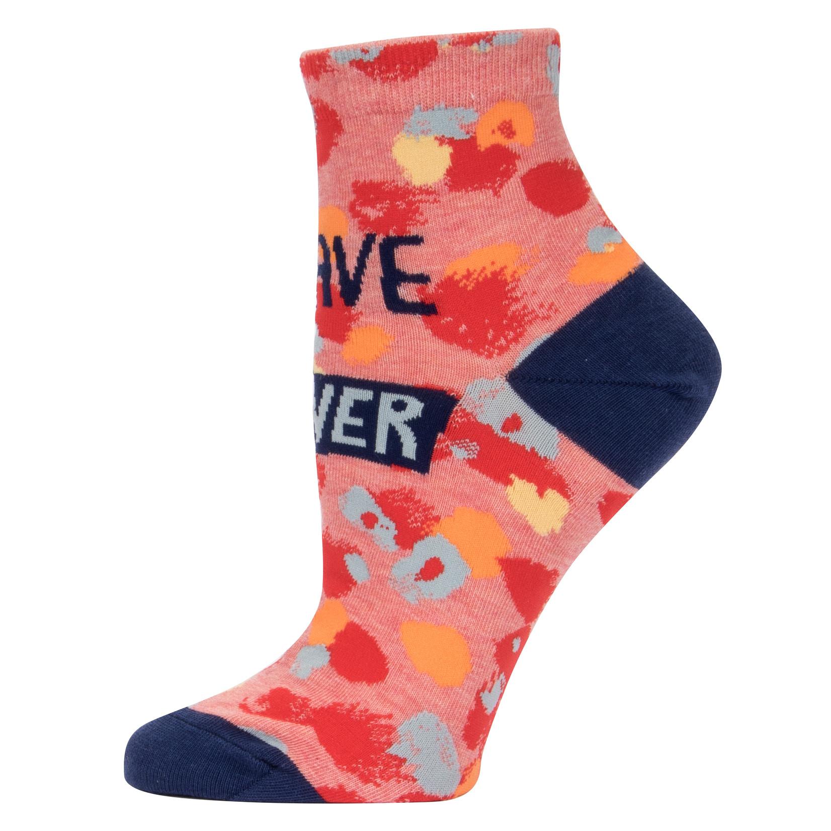 Blue Q I'll Behave Never W - Ankle Socks
