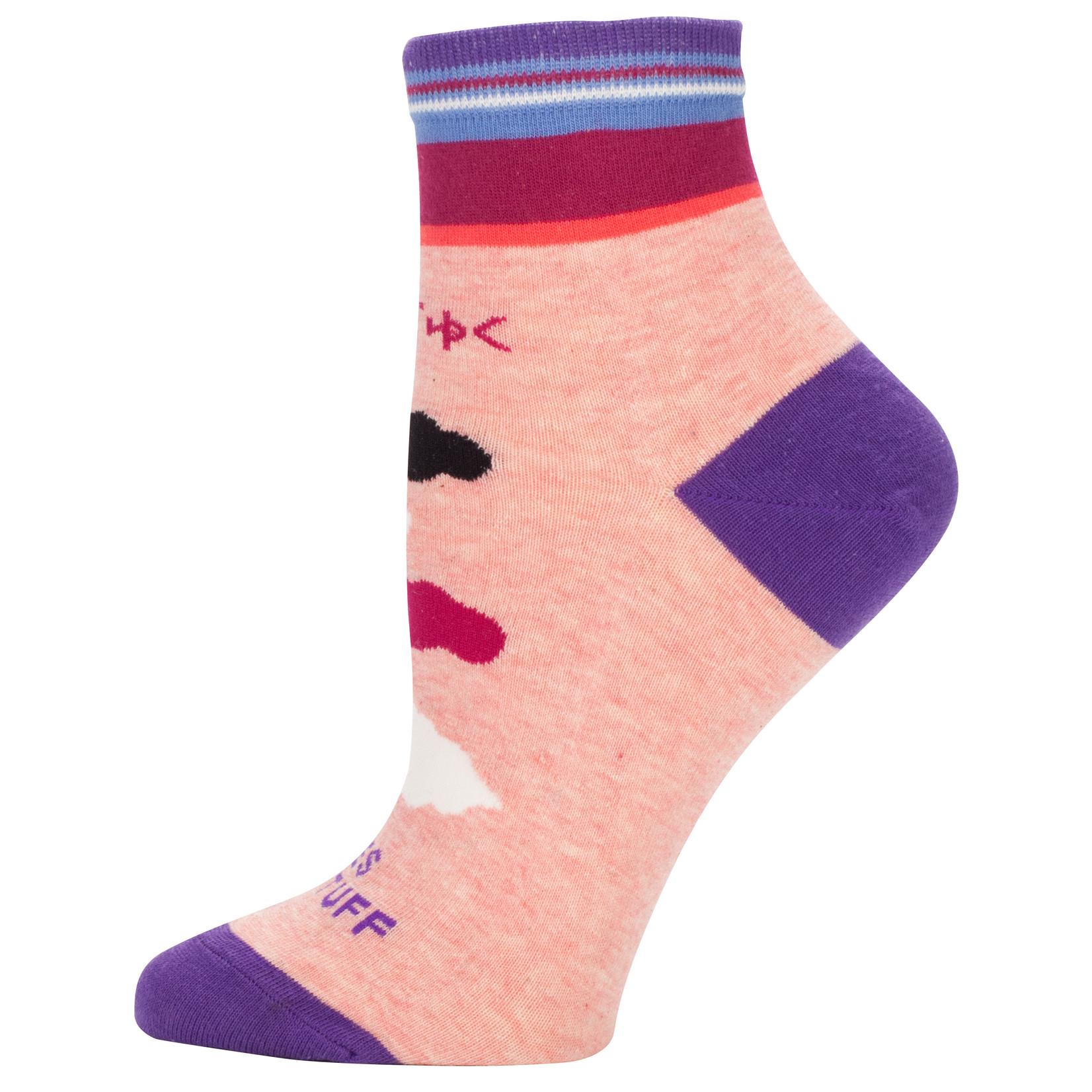 Blue Q Bitches Get Stuff Done W - Ankle Socks