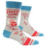 Blue Q Video Game M - Crew Socks