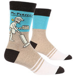 Blue Q Mr. Perfect M - Crew Socks