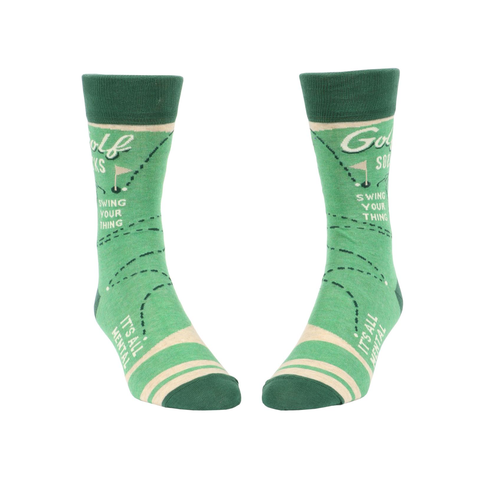 Blue Q Golf M - Crew Socks