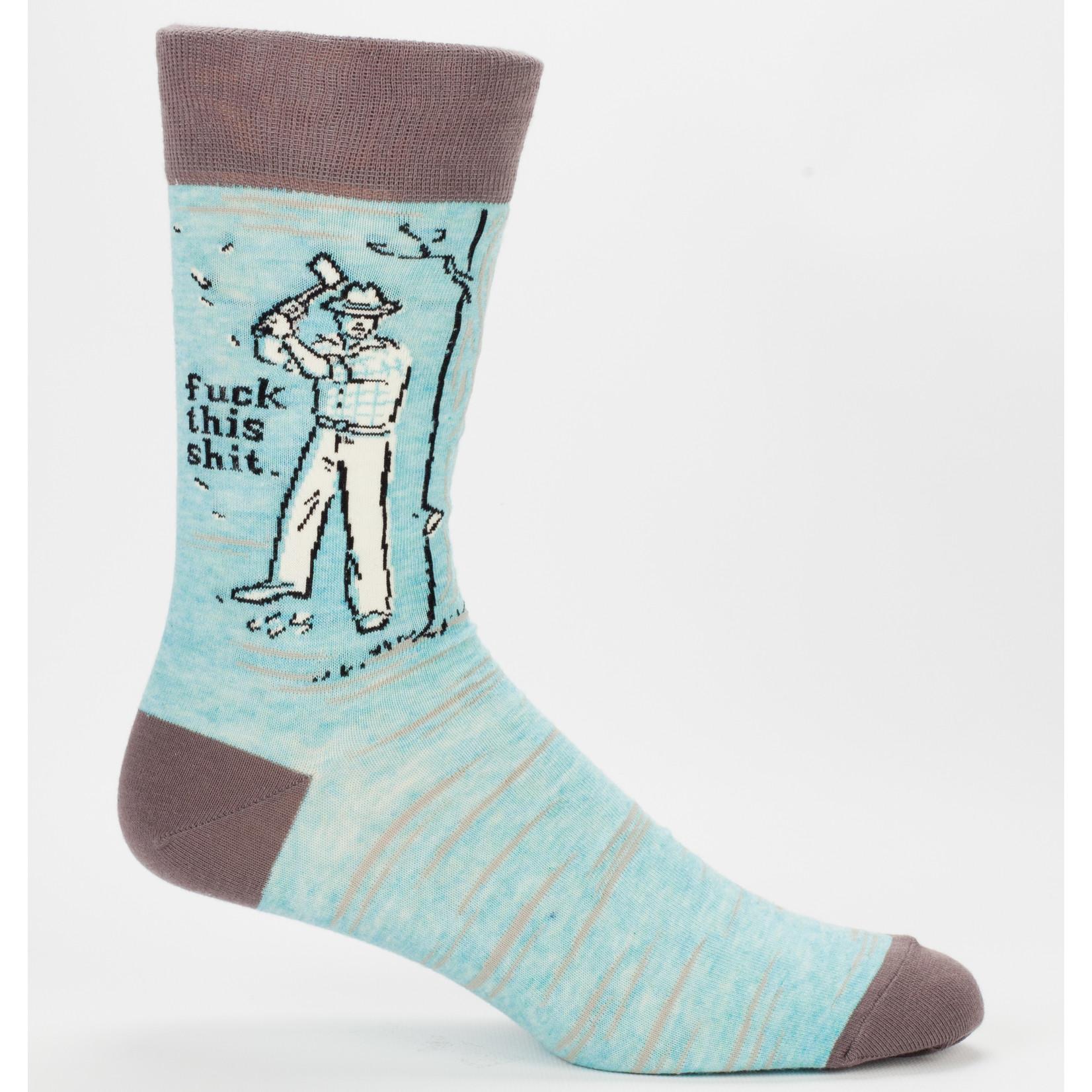 Blue Q F*ck This Sh*t M -Crew Socks