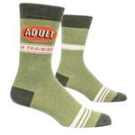 Blue Q Adult In Training M - Crew Socks