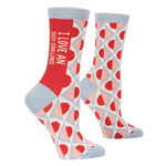 Blue Q Love An Easy Challenge W - Crew Socks
