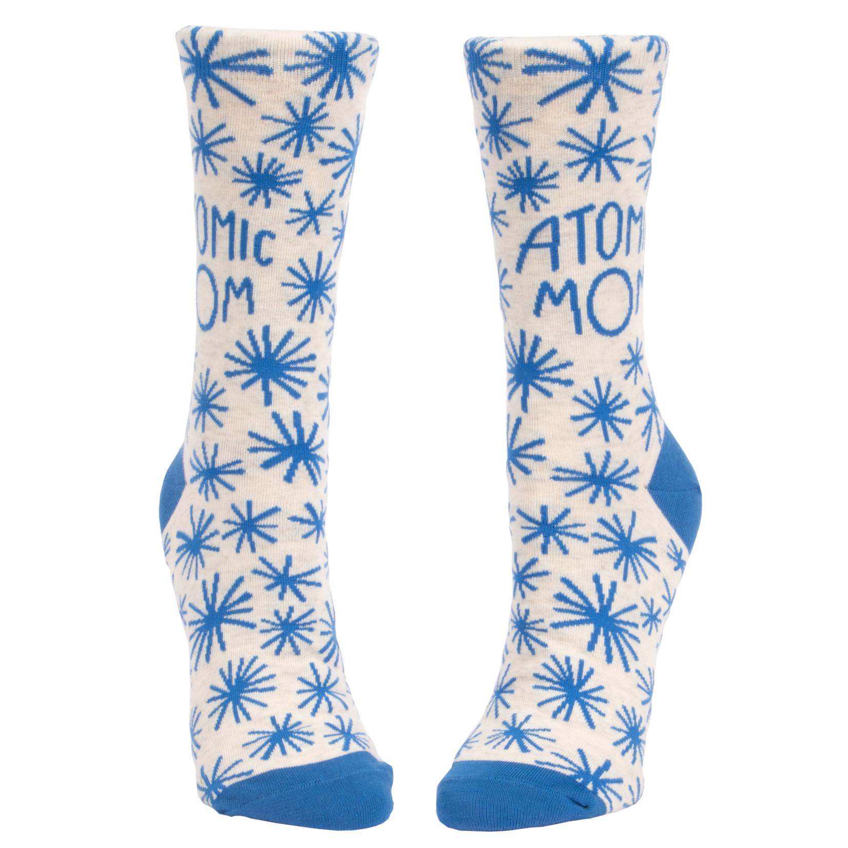 Blue Q Atomic Mom W - Crew Socks