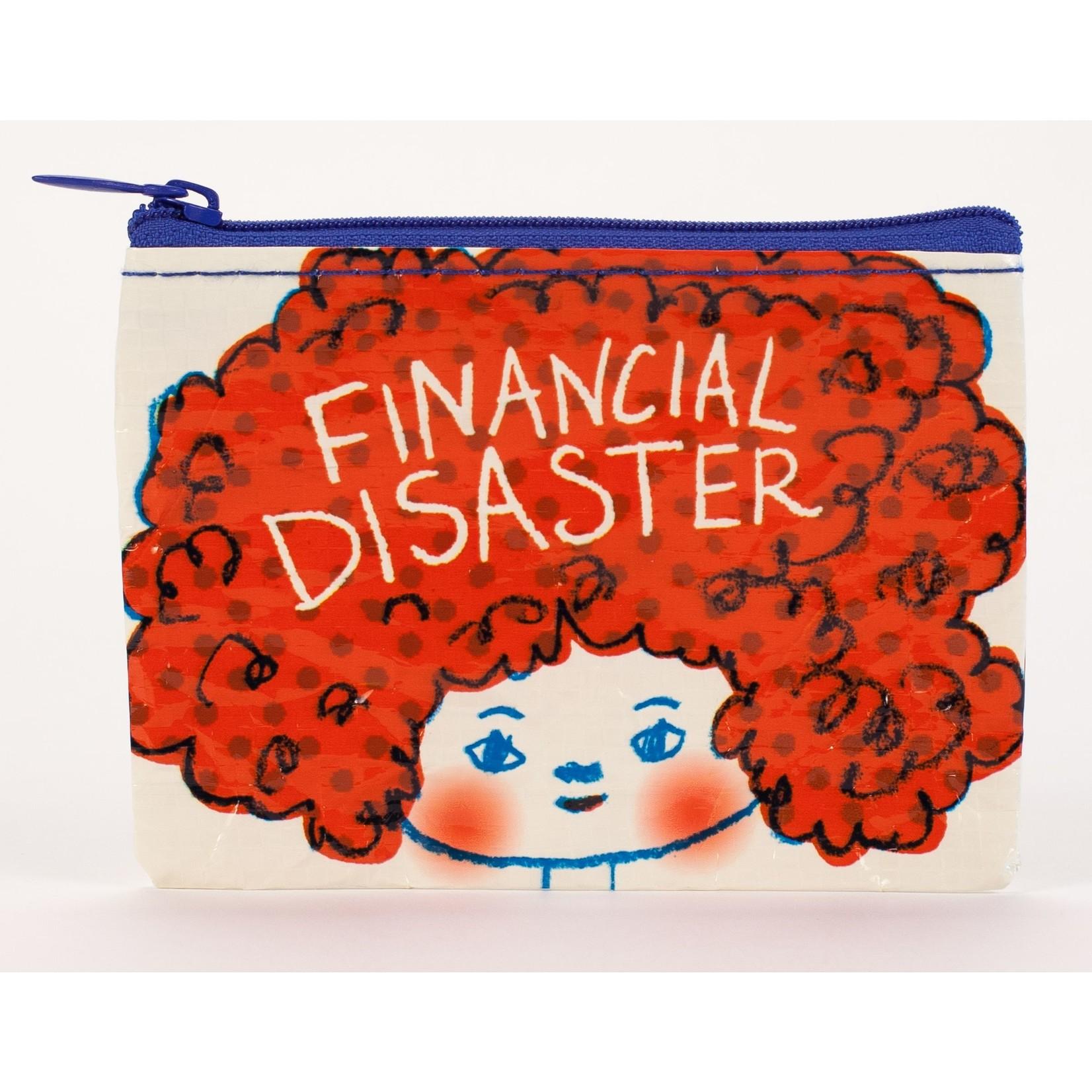 Blue Q Financial Disaster Coin Purse