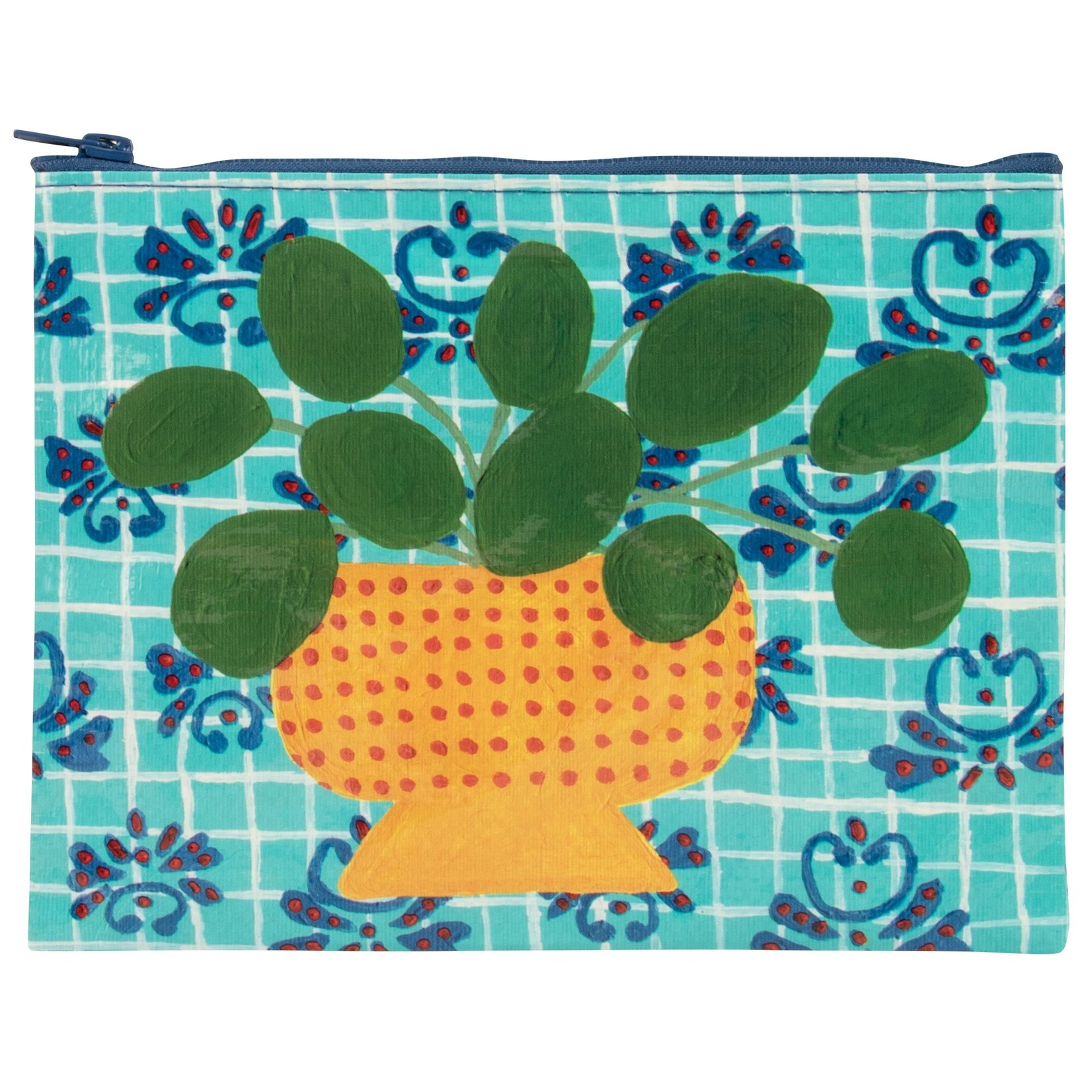 Blue Q Pretty Plant Zipper Pouch