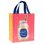 Blue Q I Like Romantic Walks Handy Tote