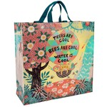 Blue Q Trees and Bees Shopper