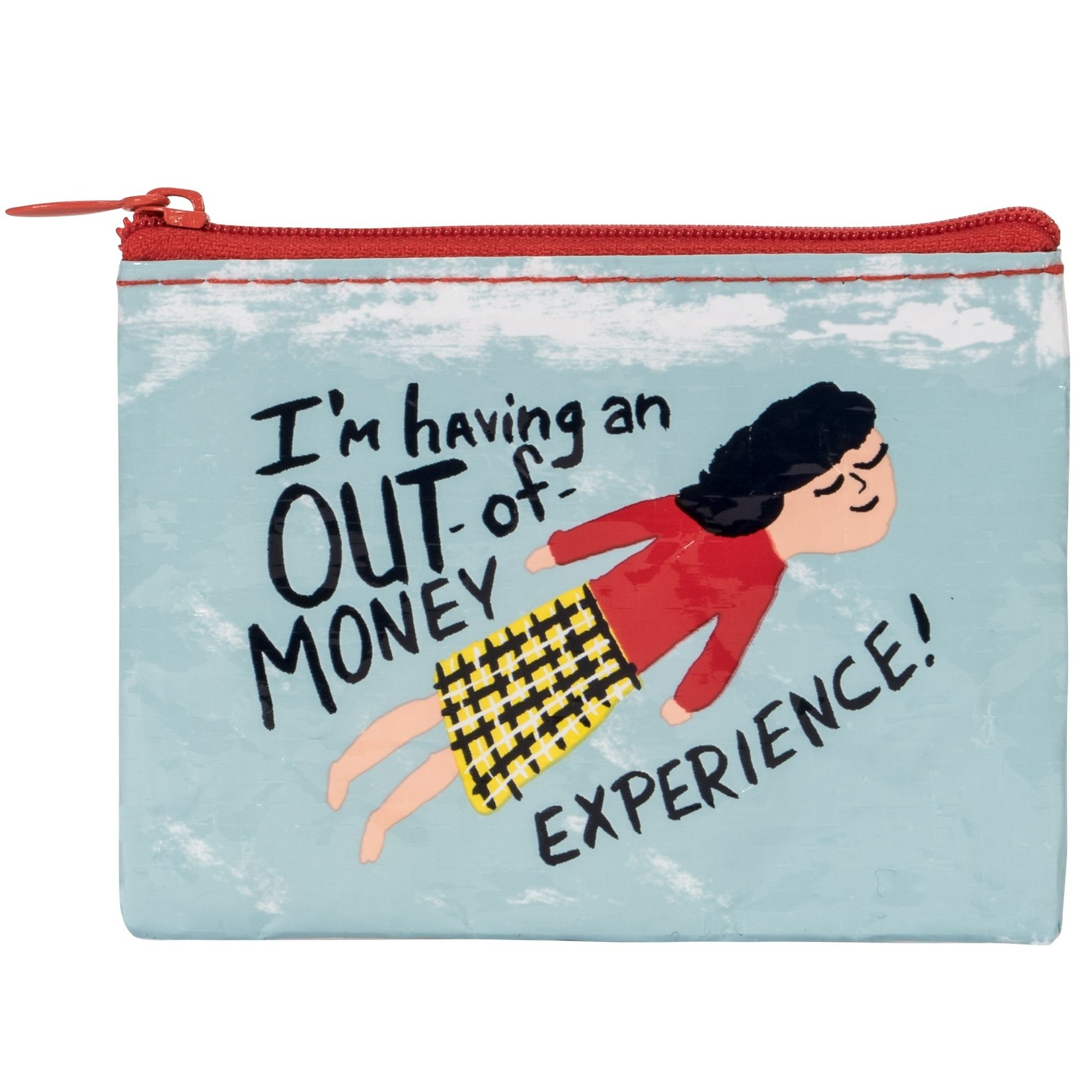 Blue Q Out Of Money Experience Coin Purse