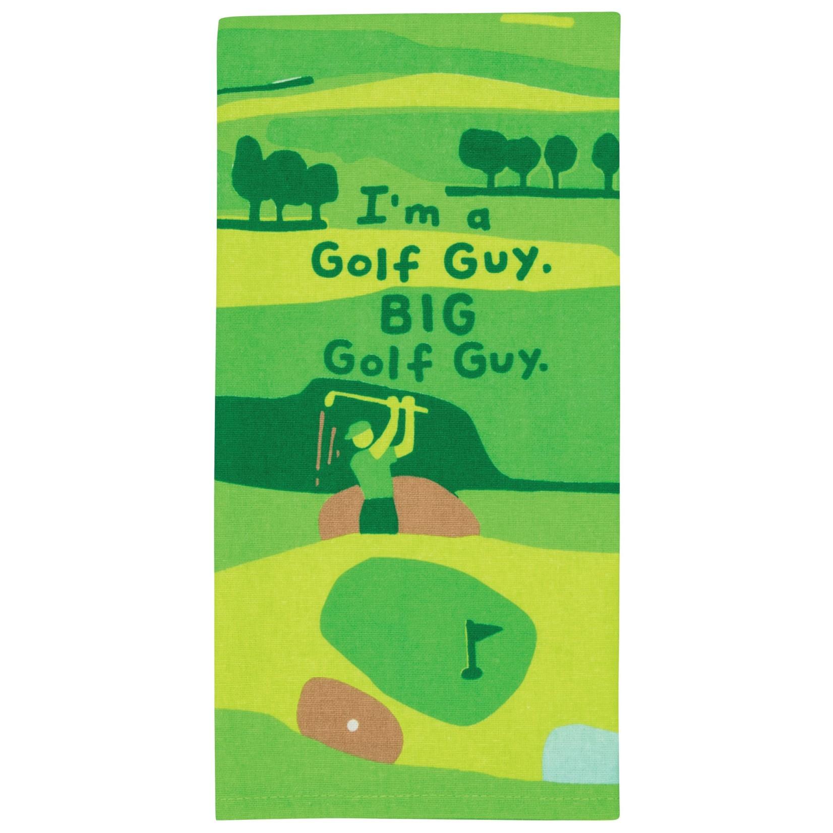 Blue Q I'm A Golf Guy Dish Towel