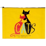 Blue Q Cats Jumpo Pouch