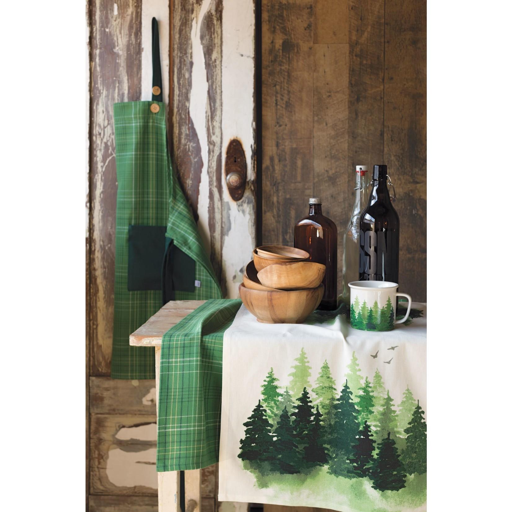 Now Designs Plaid Woods Spruce Apron