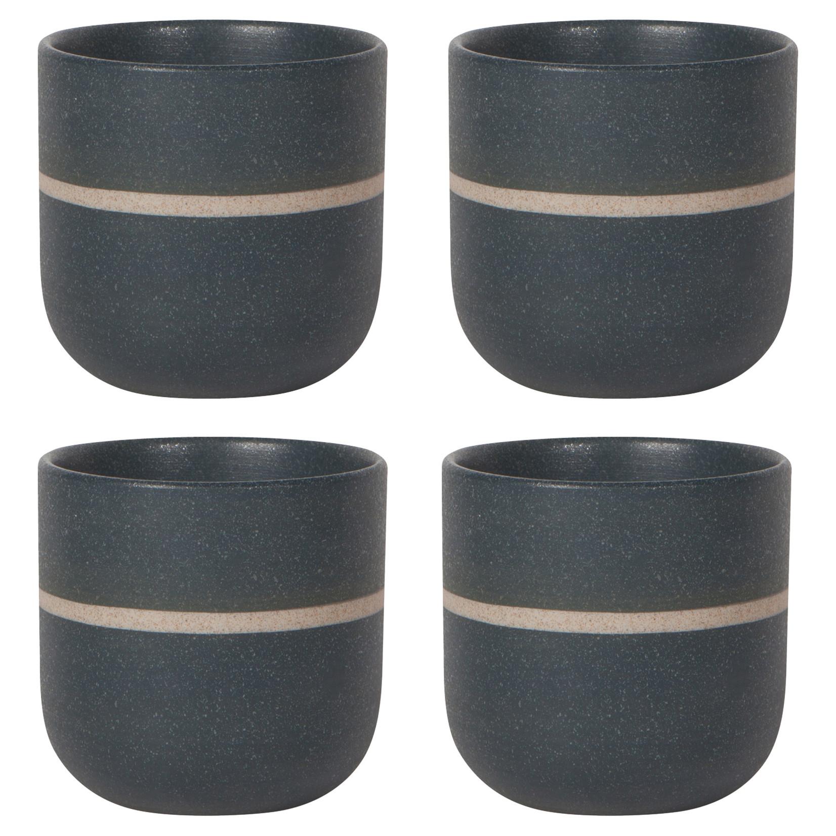 Now Designs Navy Orb Tea Cup Set