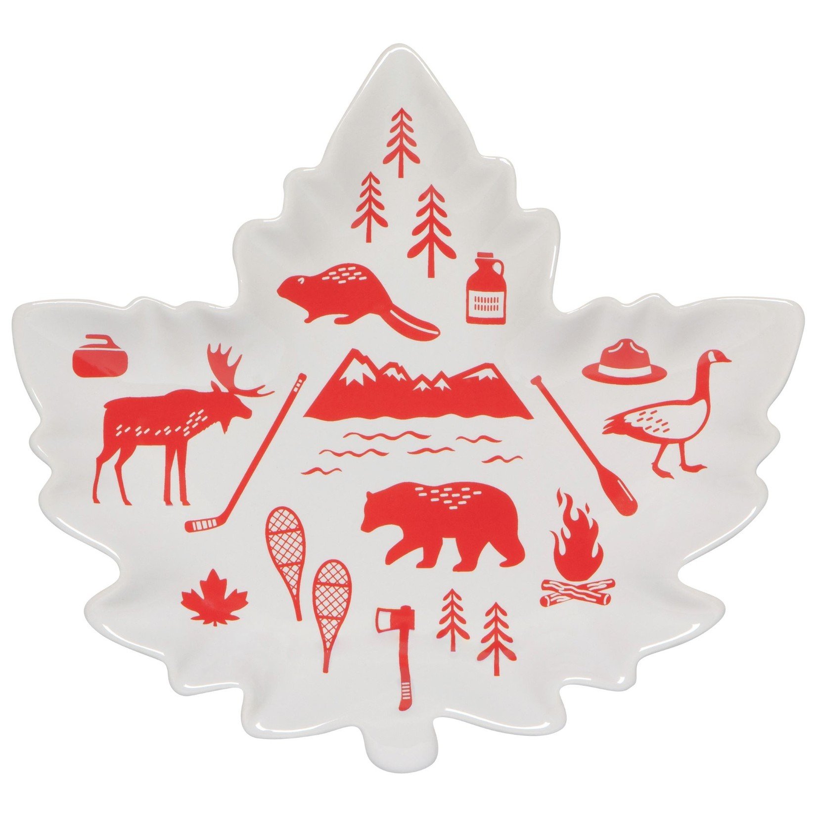 Now Designs O Canada Shaped Dish