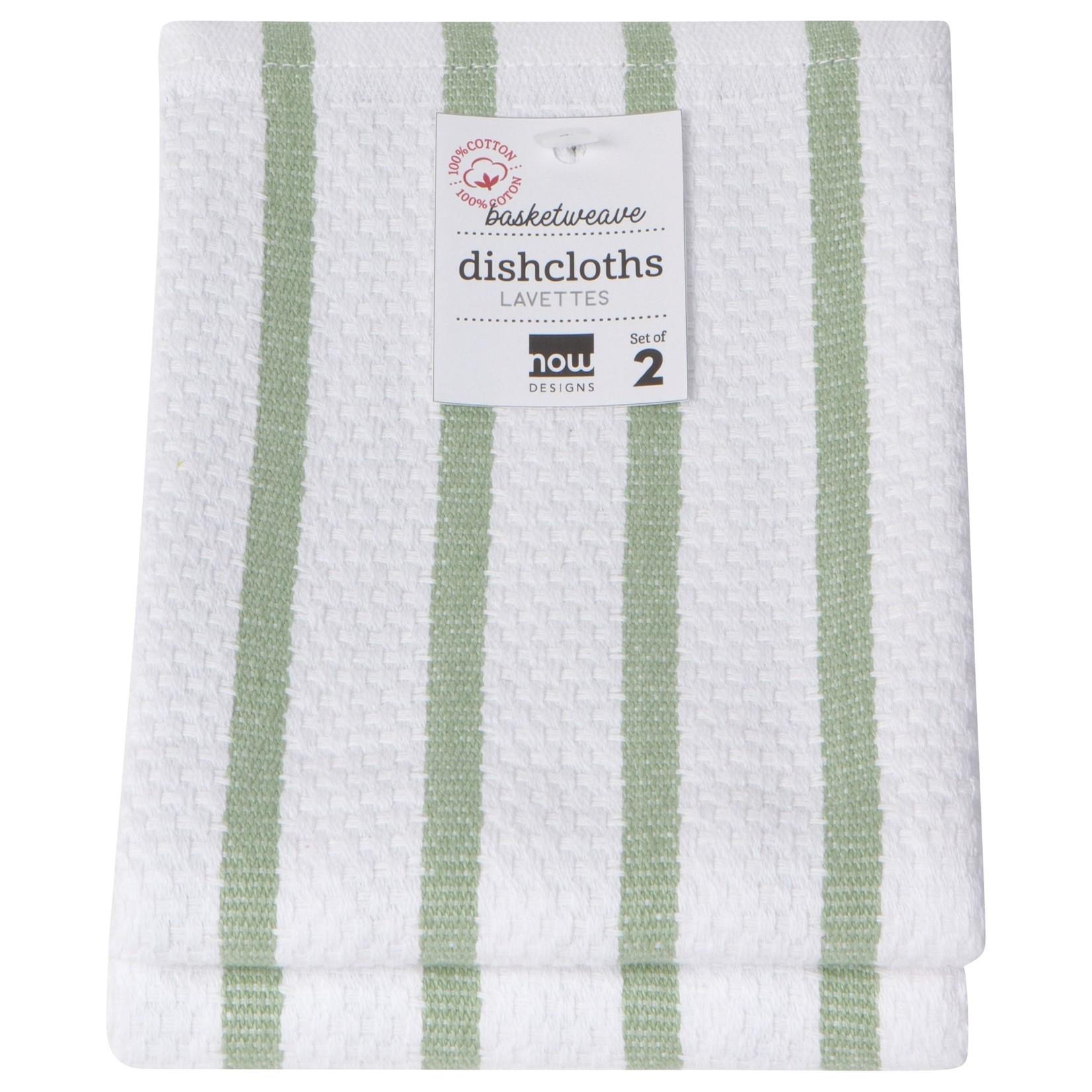 Now Designs Basketweave Dishcloths