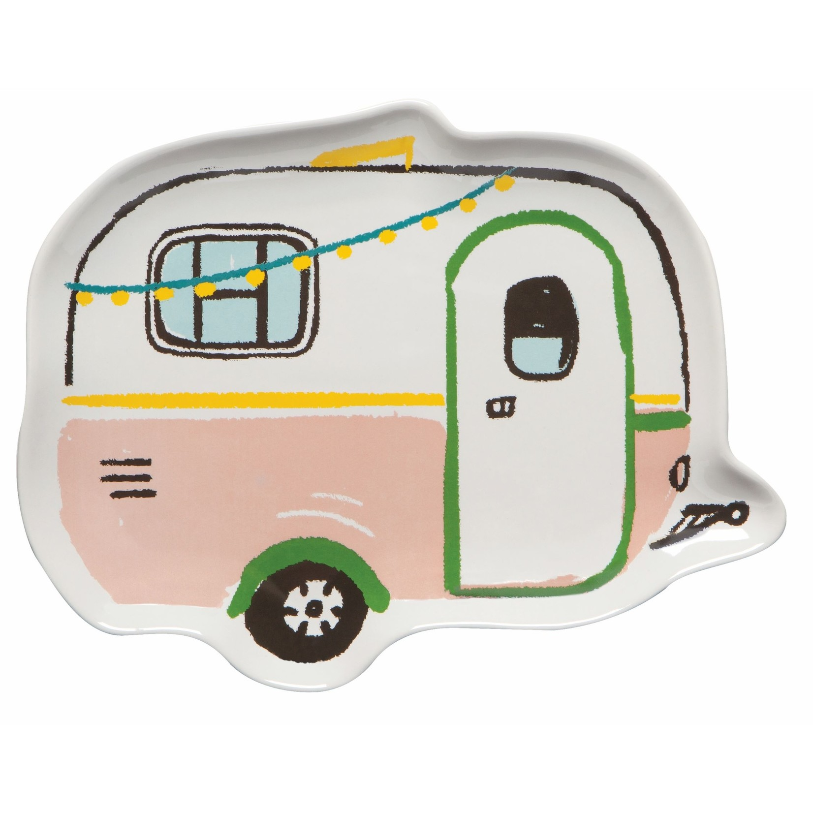 Now Designs Happy Camper Shaped Dish