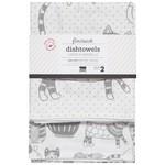 Now Designs Purr Party Floursack Dishtowel Set