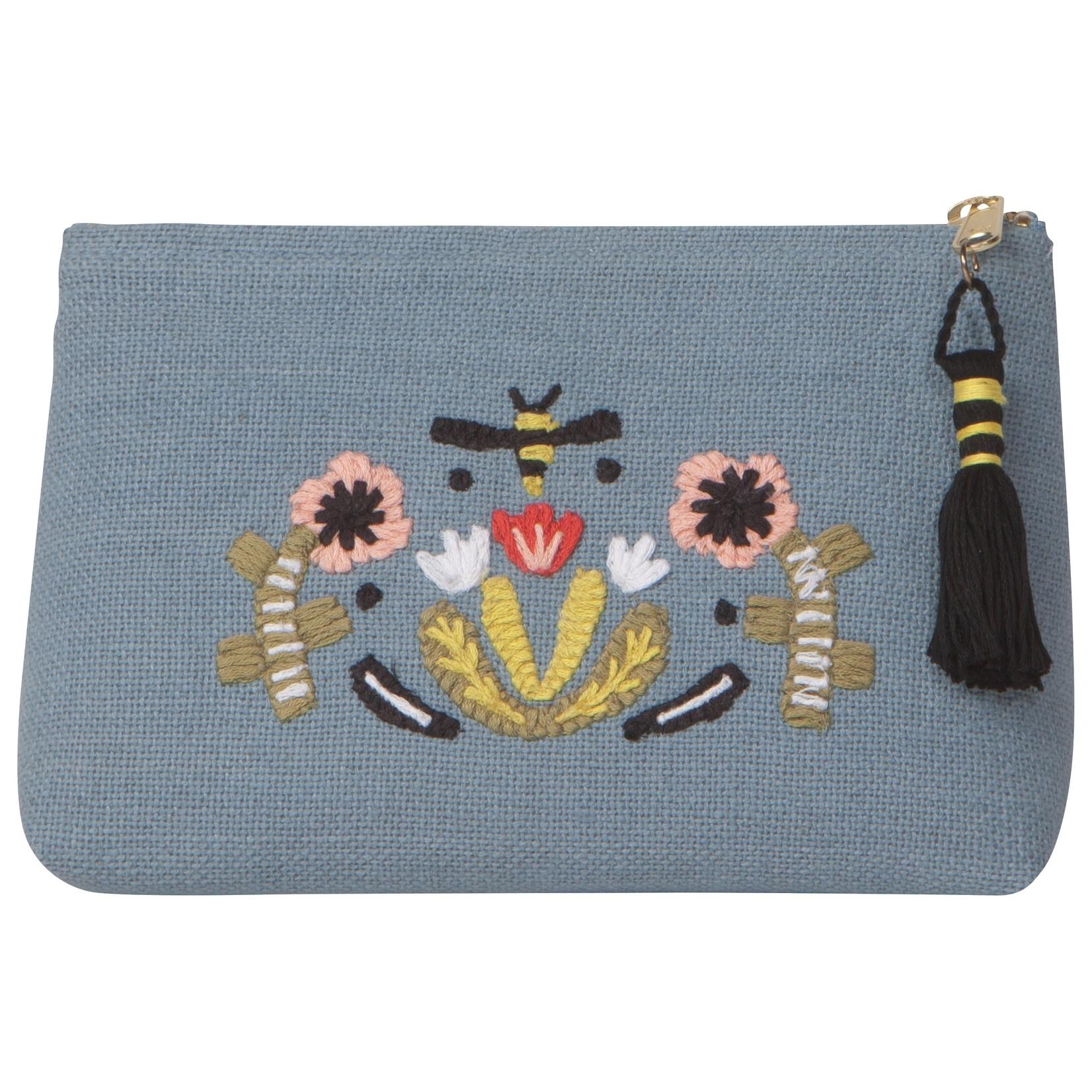 Danica Studio Small Linen Cosmetic Bag