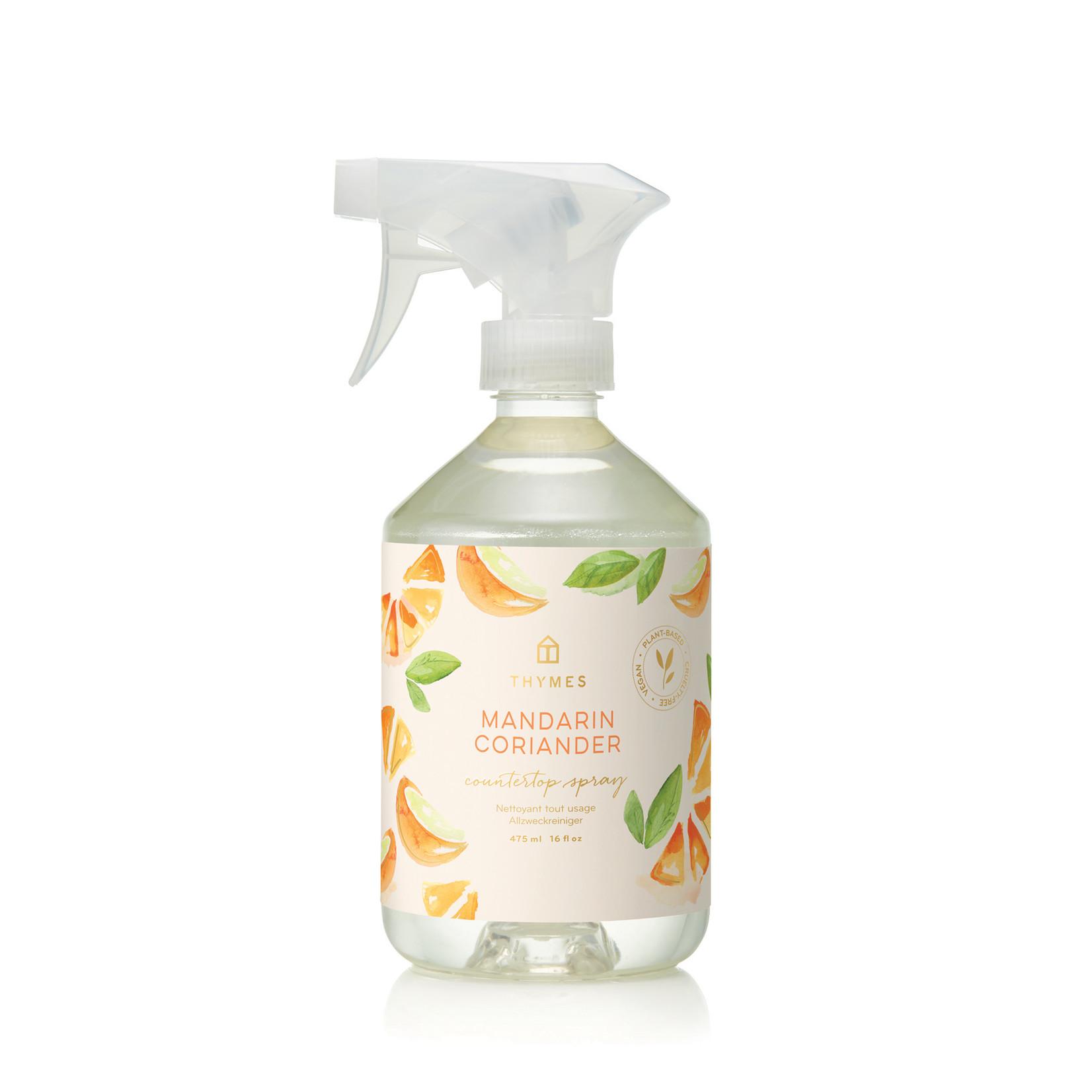 Thymes Mandarin Coriander Countertop Spray