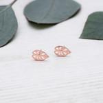 Glee Jewelry ~ Taro Leaf Studs